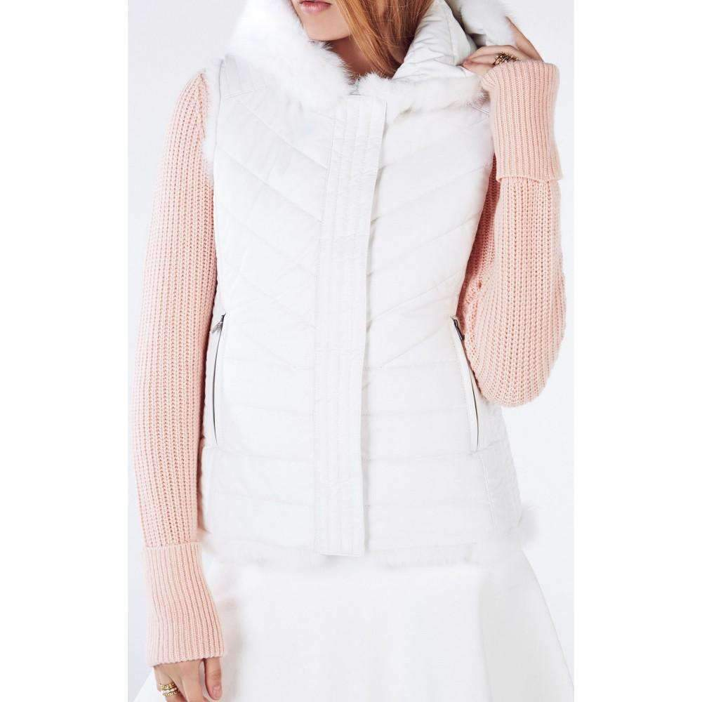 8920ad3d428 Bcbg Maxazria Mimi Reversible Fur Vest