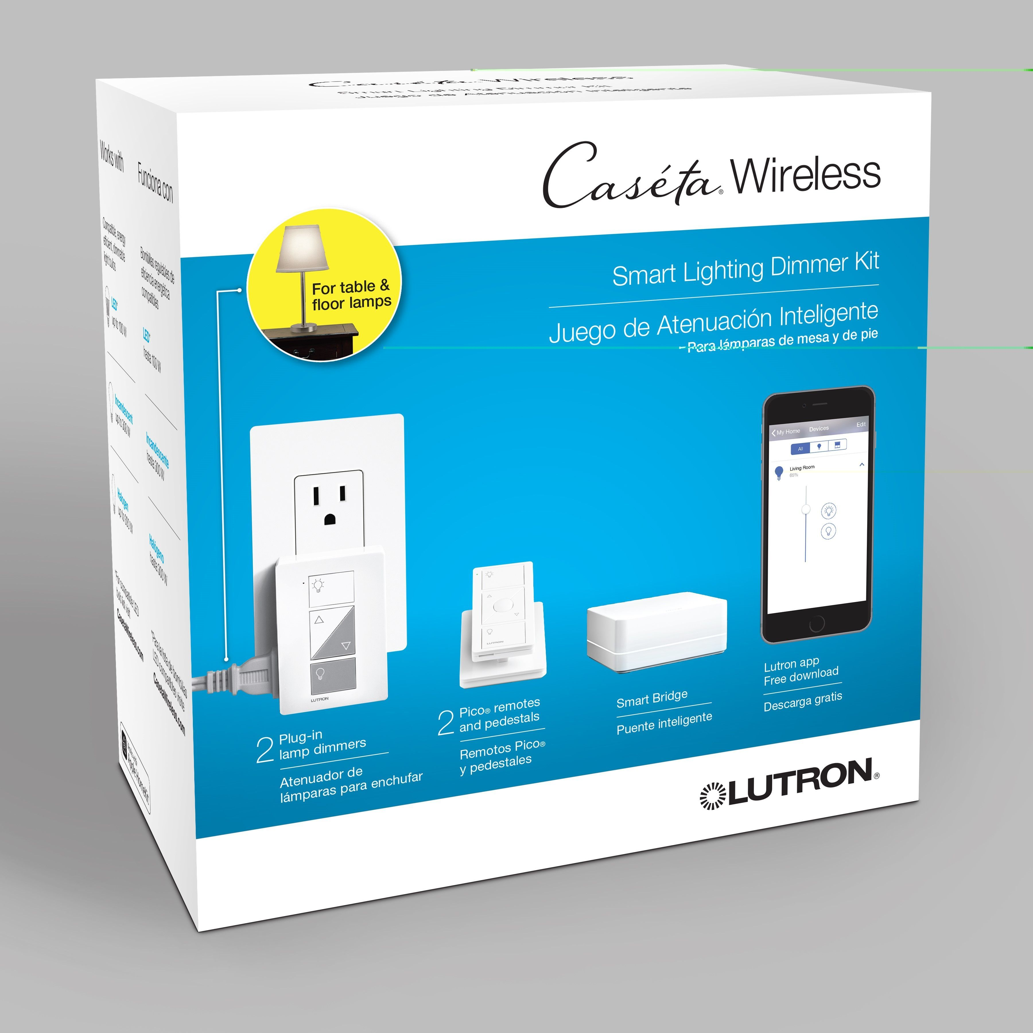 Dimmers are now connected ! Lutron with its Caseta wireless dimmer ...