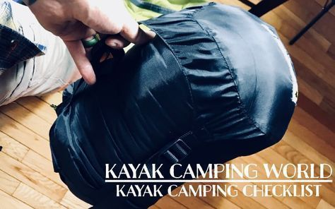 Photo of Kayak Camping Checklist [Gear List] – Kayak Camping World