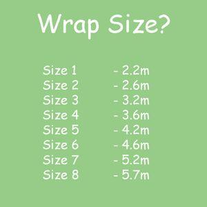 Lewlewbelle Woven Wraps Wrap Sizes Baby Wearing Pinterest