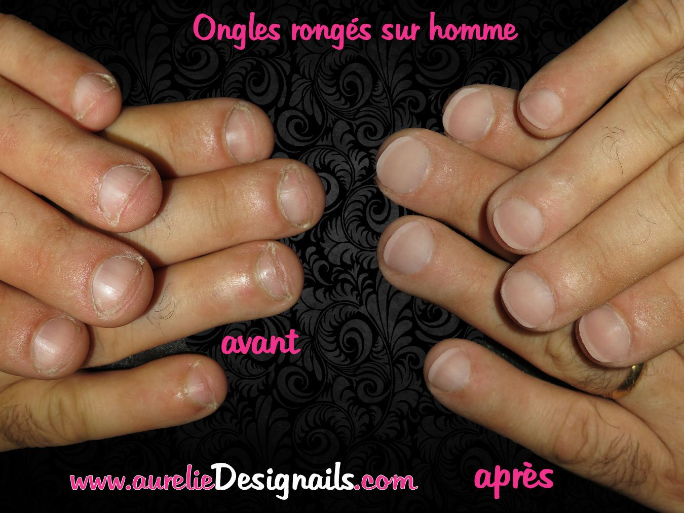 faux ongles homme prix