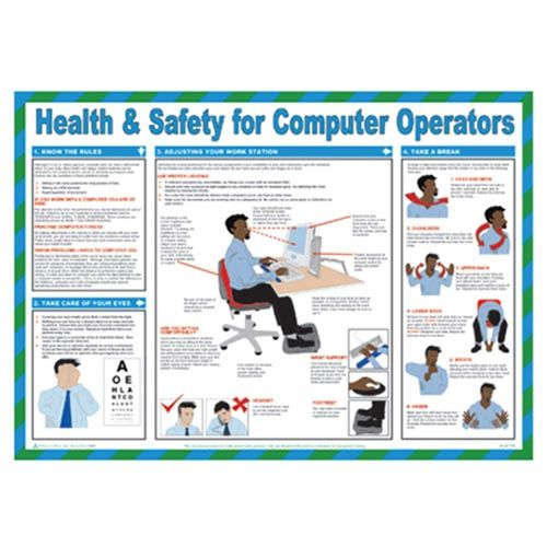 FAR027 - Health & Safety for Computer Users Poster
