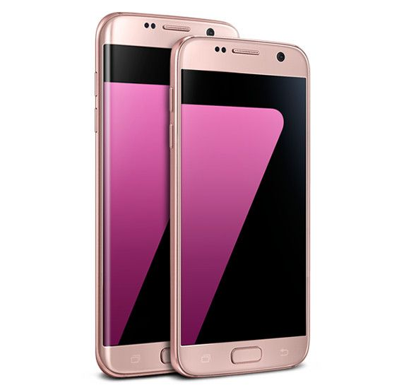 Pink Gold Color Variant Galaxy S7 And S7 Edge Are Now Available In The Us Galaxy Samsung Galaxy S7 Edge Samsung Galaxy