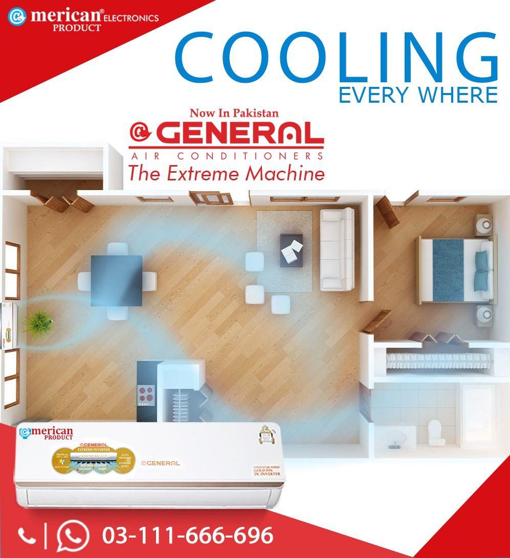 General DC Inverter AC 1.0 Ton 12000 BTU Ac price