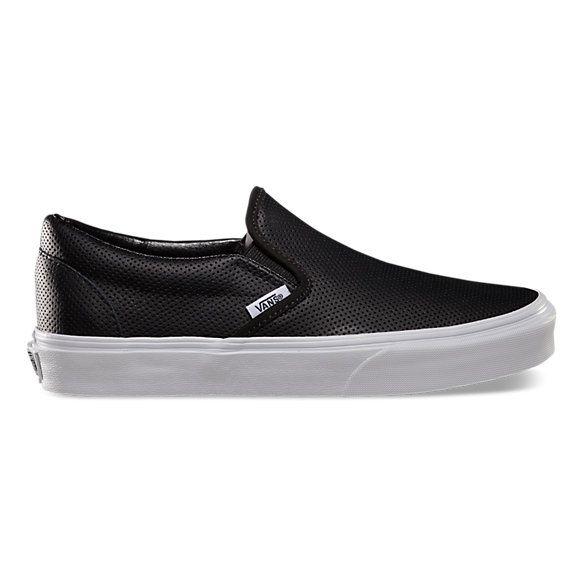 Vans | Minimal + Chic | @codeplusform | Leather vans, Black