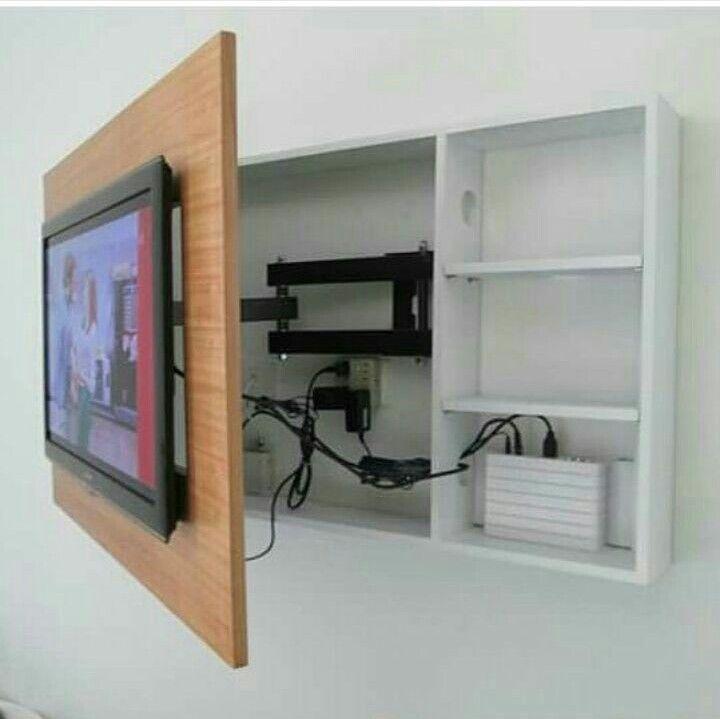 Tv Op Slaapkamer Oplossing Voor Tv Zenderkastje Wegwerken