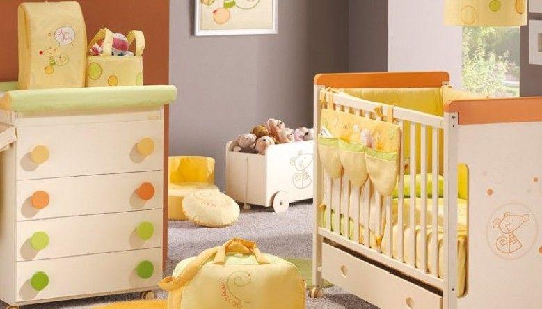 Fotos muebles cunas coloridas para bebes dormitorios for Muebles infantiles diseno