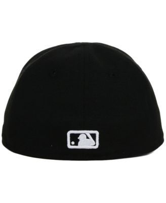 new era kids los angeles angels of anaheim black and white 59fifty cap black