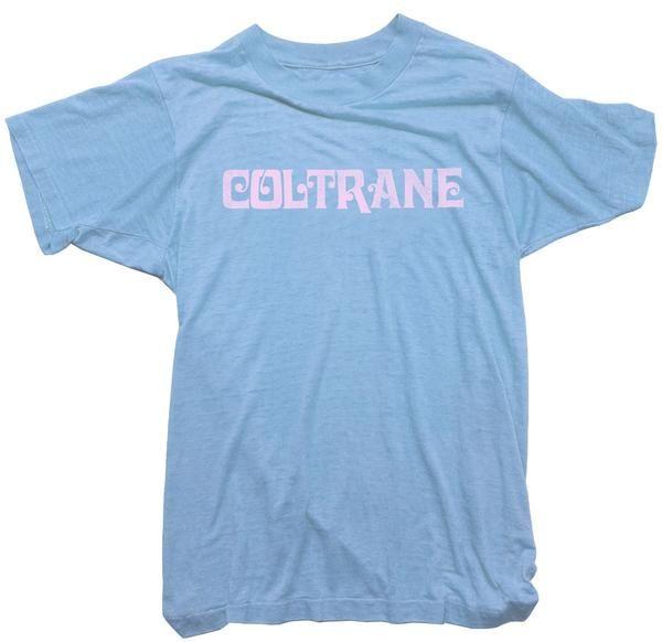 c7736aa2294c John Coltrane T-Shirt. Vintage Logo T-Shirt John Coltrane Jazz tee. | Worn  Free