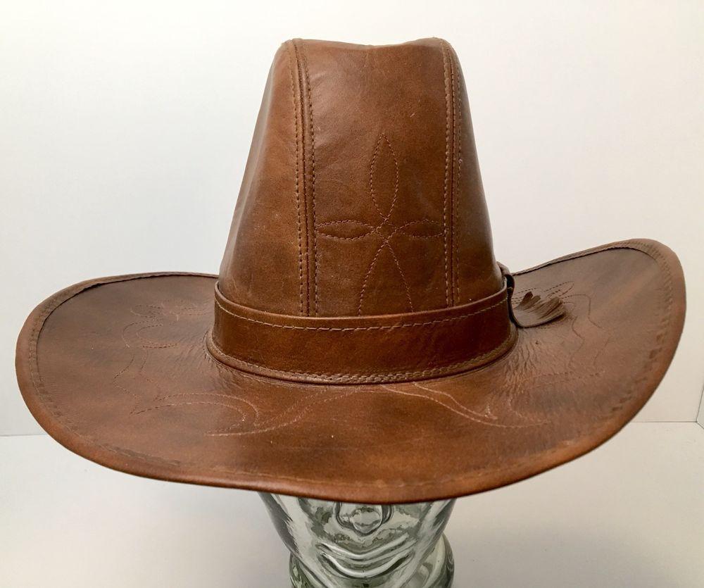 Vintage Henschel Western Cattleman Hat Union Made Medium USA Rare   HenschelWestern  CowboyCattleman 75c6fc2920fe