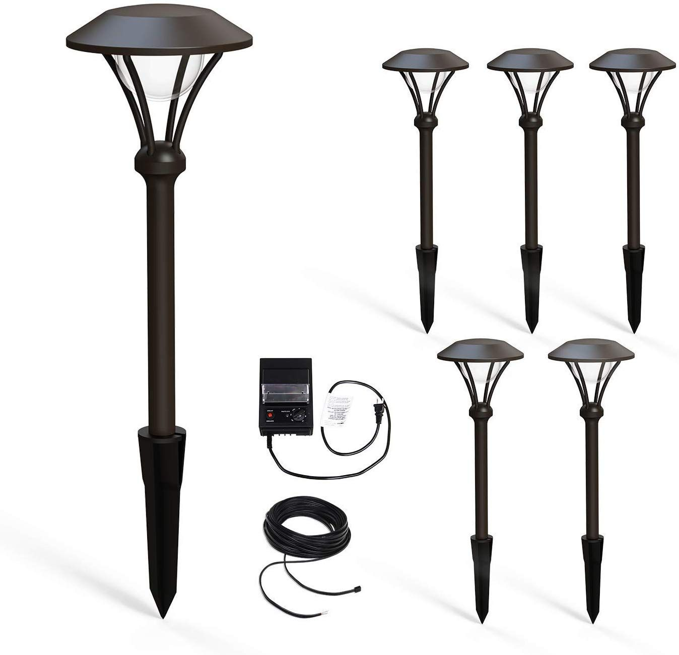 Malibu Celestial 6 Pack Led Pathway Lights Led Low Voltage Landscape Lighting Garden Light For Outdoor Landscape Lighting Landscape Lighting Pathway Lighting
