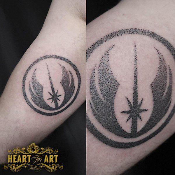 Tomm Birch On Twitter Dots Star Wars Jedi Symbol Tattoo In