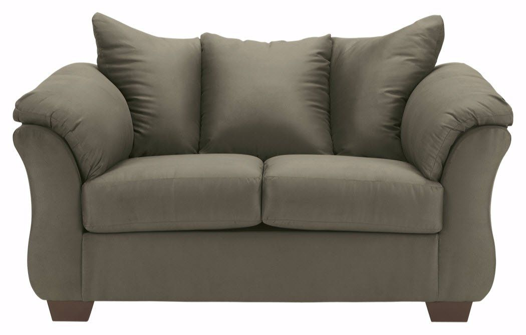 Ashley Furniture Signature Design Darcy Love Seat Contemporary Style