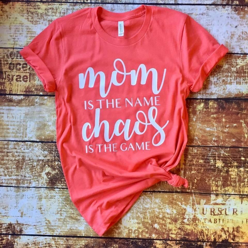 """""""MOM IS THE NAME"""" TEE Mom tshirts, Shirts, Tees"""