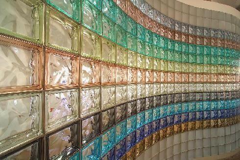 Colored Glass Blocks Glass Blocks Glass Blocks Wall Glass Brick