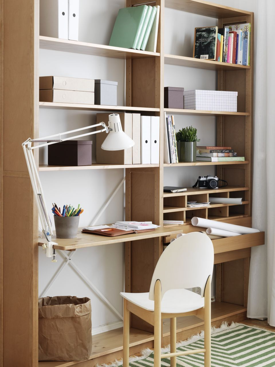 Lundia Regalsystem lundia could work as our combined bookshelf office small