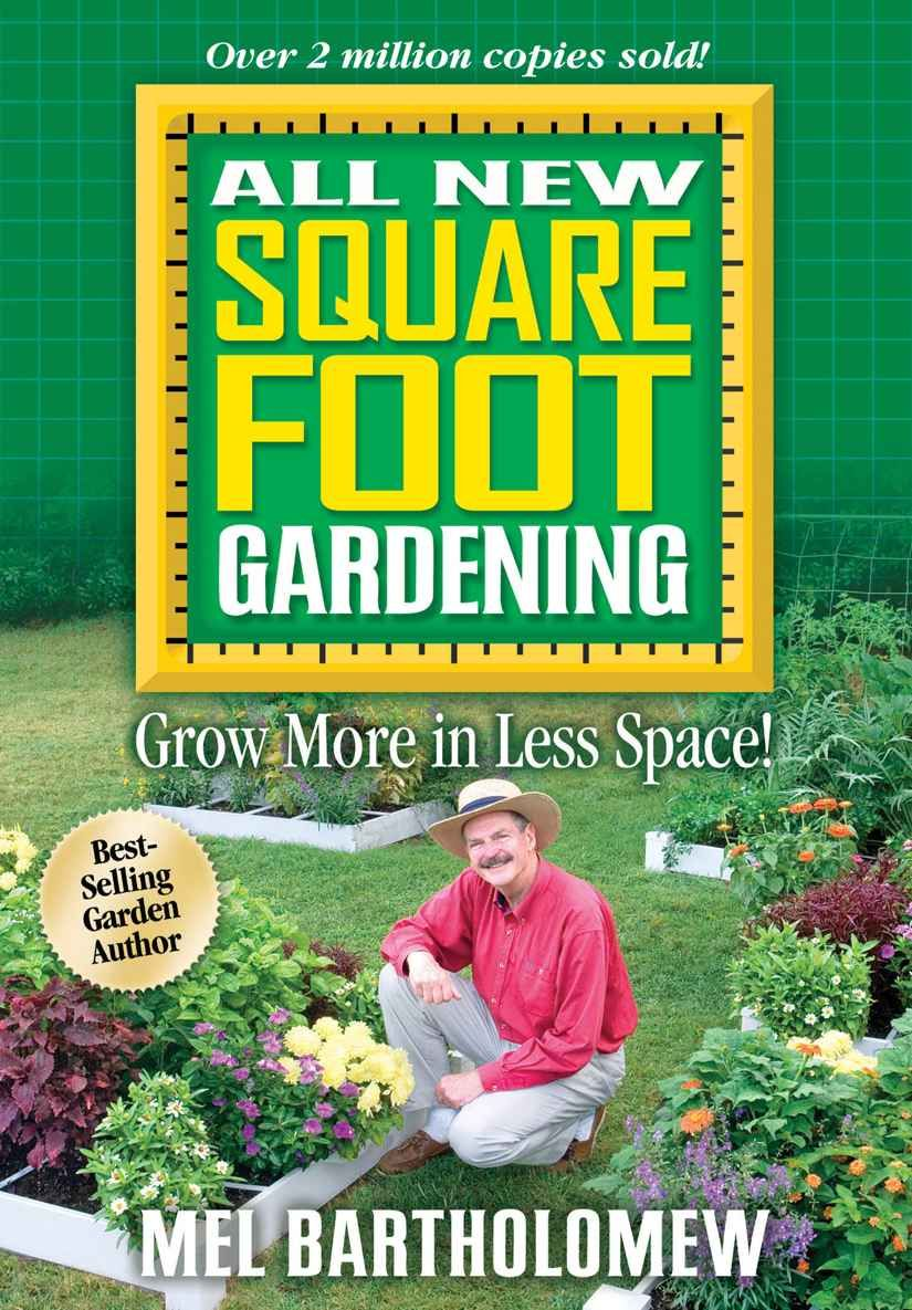 Square foot gardening book - All New Square Foot Gardening Mel Bartholomew 0789172001311 Amazon Com Books