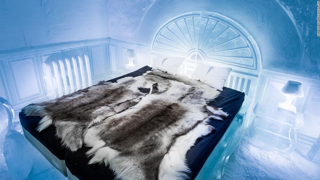 World S First Permanent Ice Hotel Opens In Sweden Ice Hotel