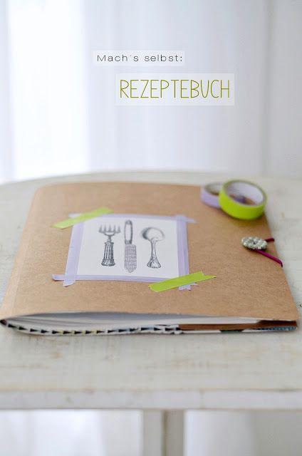 rezeptebuch diy inspiration pinterest kochbuch rezeptb cher und buchbinden. Black Bedroom Furniture Sets. Home Design Ideas