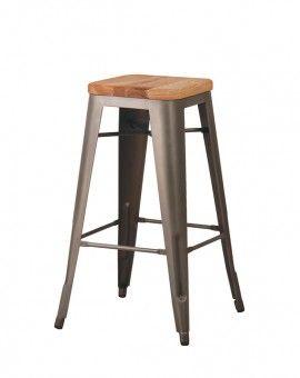 Wood Metal Counter Or Barstool Metallicheskie Stulya Mebel Iz