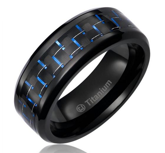 Carbon Fiber Motorcycle Helmets Black ceramic ring