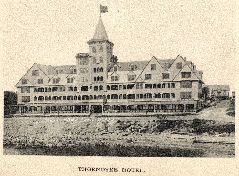 Thorn Hotel Jamestown Ri Destroyed 1912