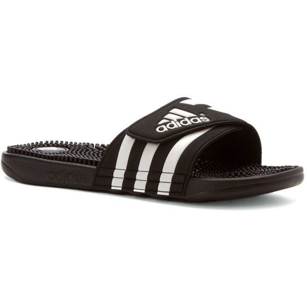 55b35a9bd Adidas Men s Adissage Slide Sandal Sandals (385595402) ( 30) ❤ liked on  Polyvore featuring men s fashion