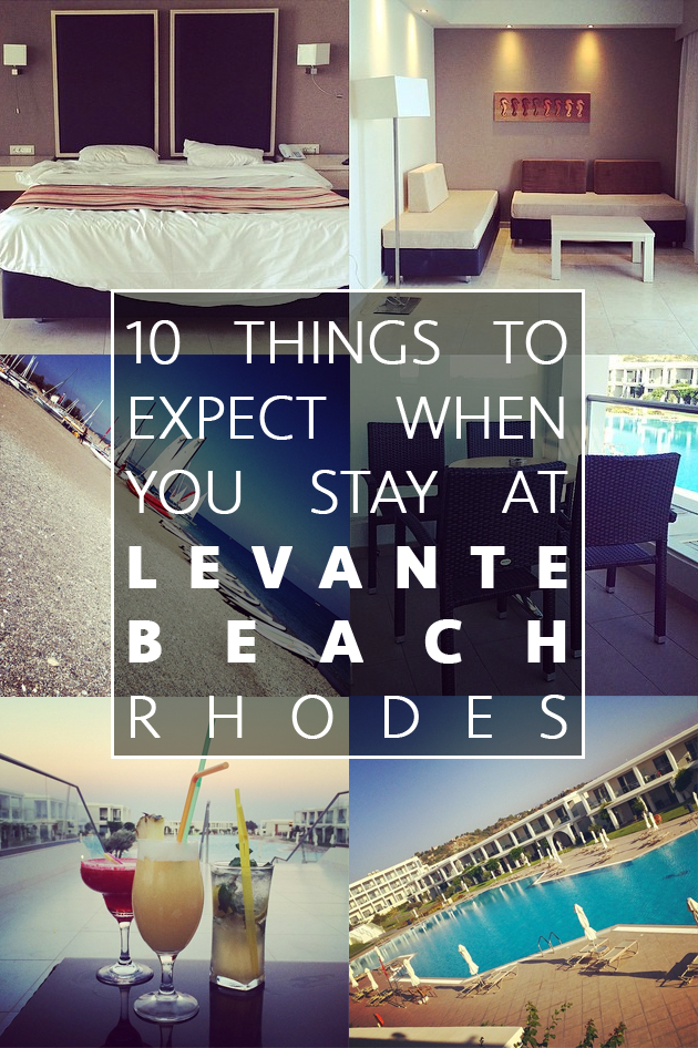 10 things you can expect from a Superior Suite stay at Levante