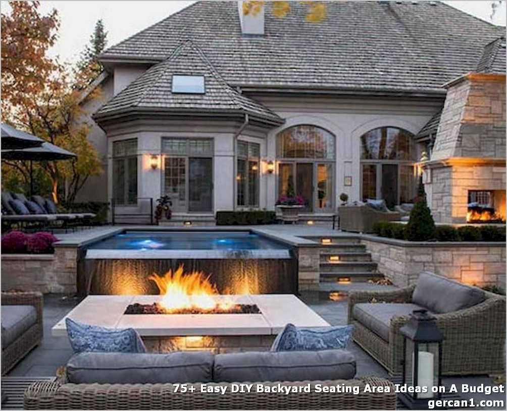 75 Easy Diy Backyard Seating Area Ideas On A Budget Fire Pit Seating Area Backyard Fire Backyard