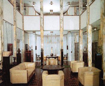 Palais stoclet 1905 11 art deco - Jugendstil innenarchitektur ...