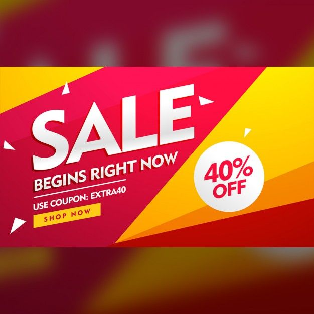 Yellow and red discount voucher Free Vector ideas Pinterest - free discount vouchers
