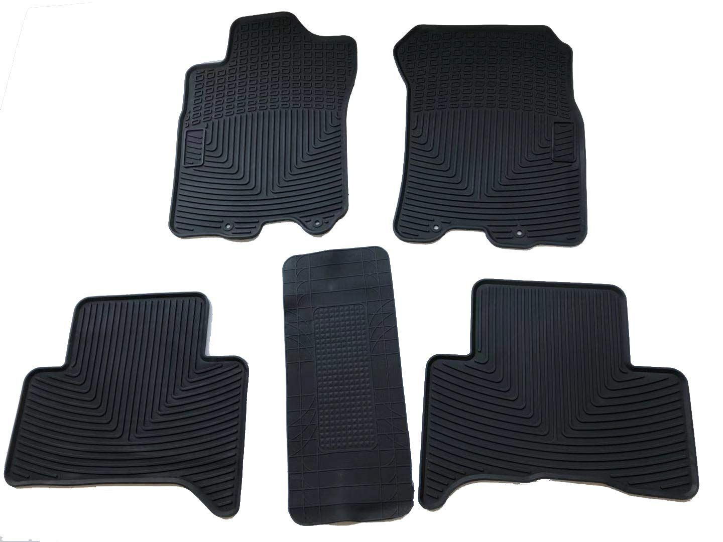 Caartonn Rubber Floor Mats All Weather Heavy Duty Trunk Mats Fit For Toyota Fj Cruiser 2010 2011 2012 2013 20 In 2020 Cargo Cover Kia Sportage Honda Crv 2017