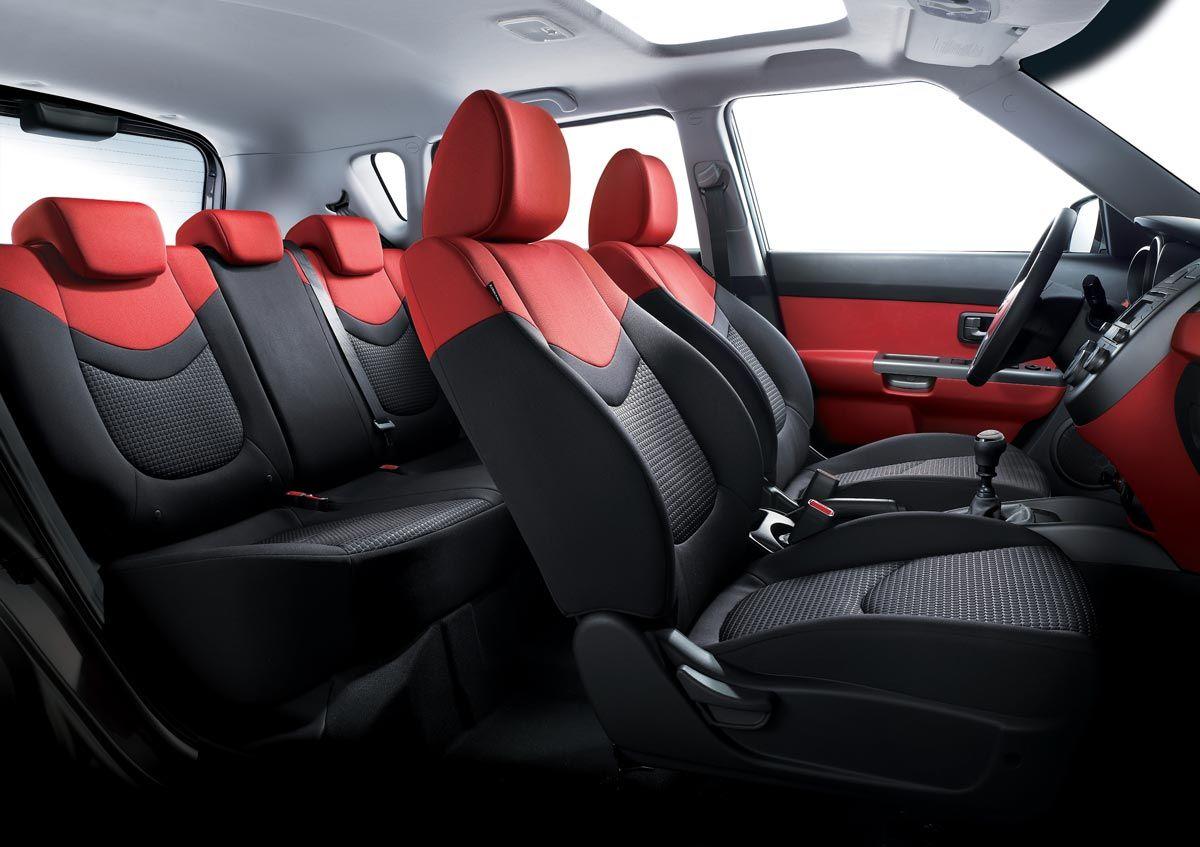 Kia Soul yep it's my car!!!! I love my RED interior. Kia