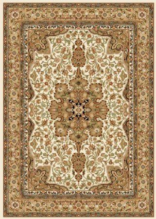 Amazon.com: Home Dynamix Royalty 8083-100 Ivory 7-Feet 8-Inch by 10-Feet 4-Inch Traditional Area Rug: Home & Kitchen