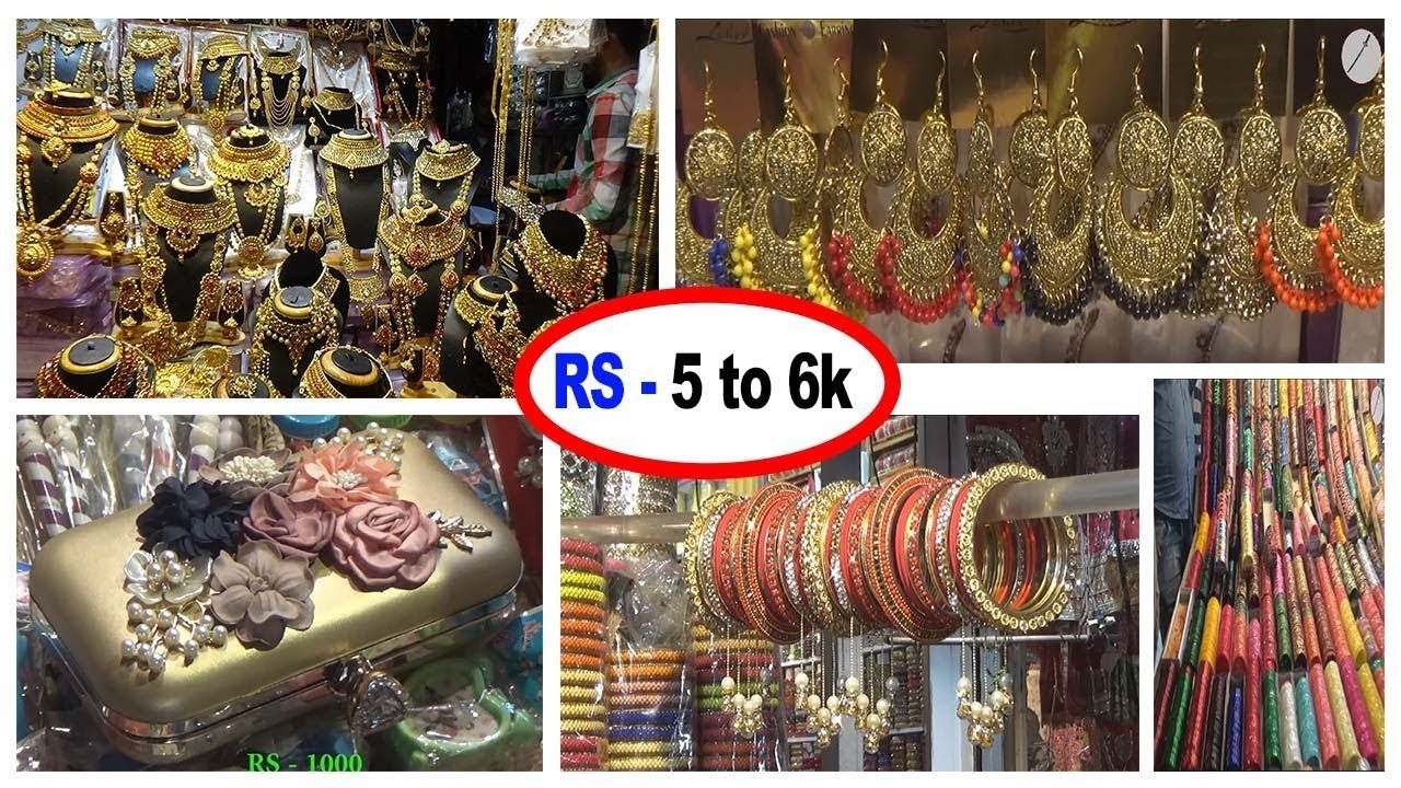Cheapest Imitation Jewellery Wholesale Retail Market Kolkata
