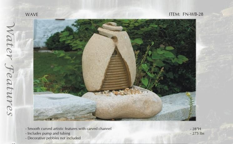 Granite/Natural Stone Garden Fountain