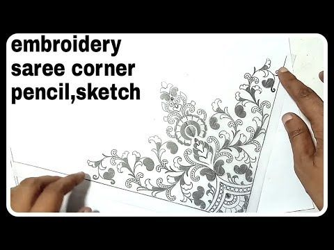 Pencil drawing corner projects