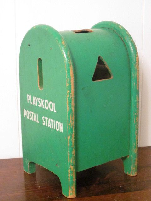 Postal Playskool play station