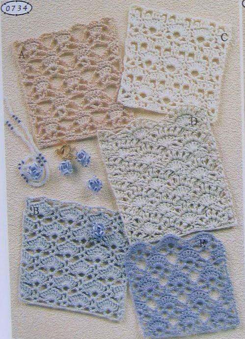 Schema Di Punti Alluncinetto Con Archetti Rainbow Blankets 3