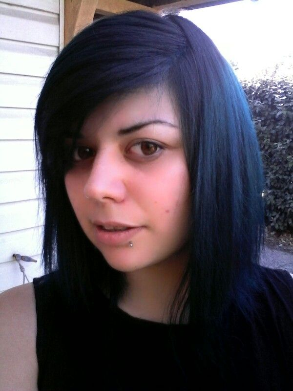 Manic Panic Rockabilly Shocking Blue Hair Color Shocking Blue Hair