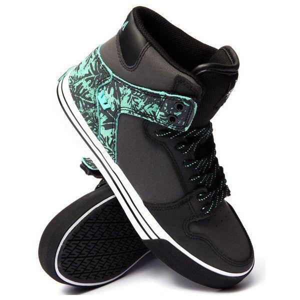 vaider black leathermint suede sneakers by Supra (€71