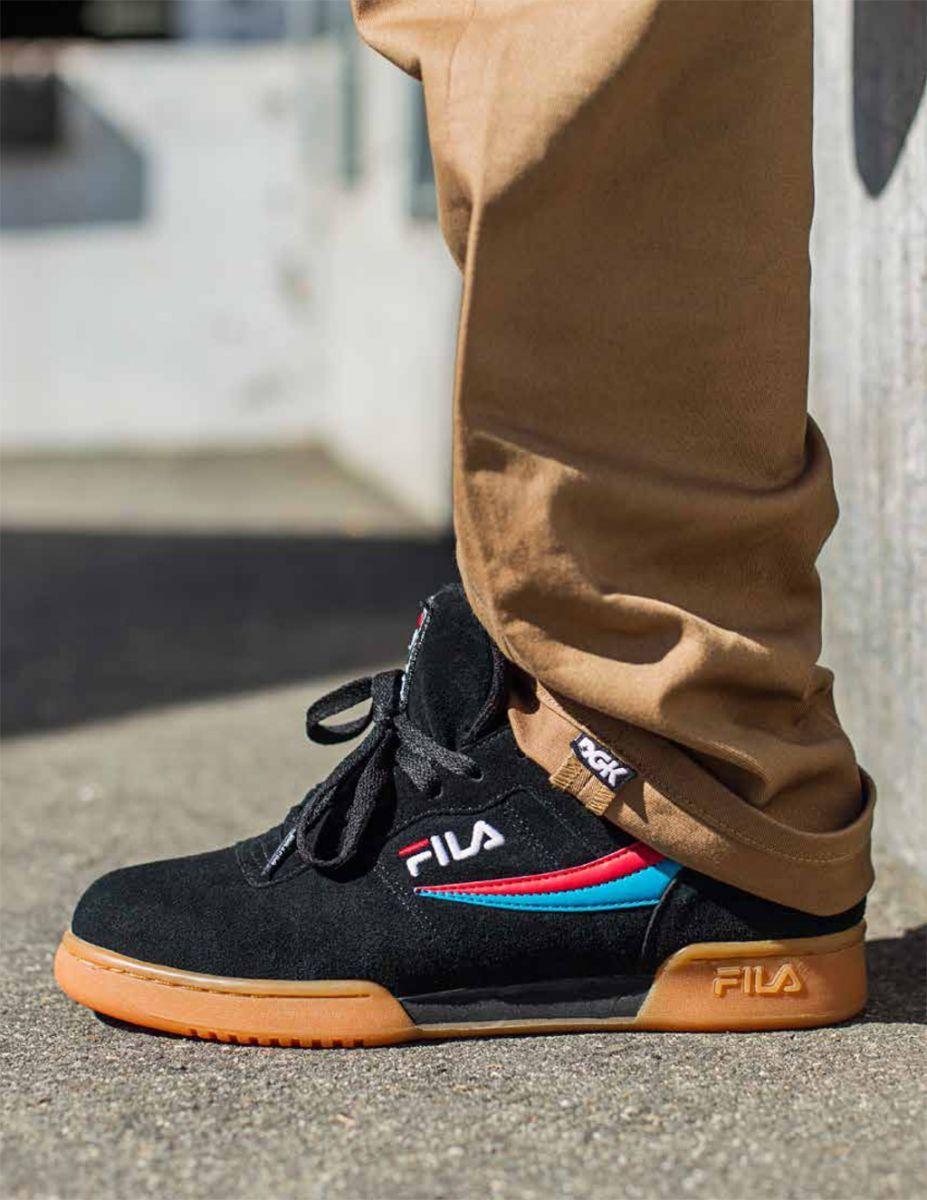 sports shoes 3e79b c9e2a DGK Updates the Fila Original Tennis For Skaters