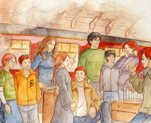 19 Years Later Harry Potter Fan Art Harry Potter Anime Harry Potter Art