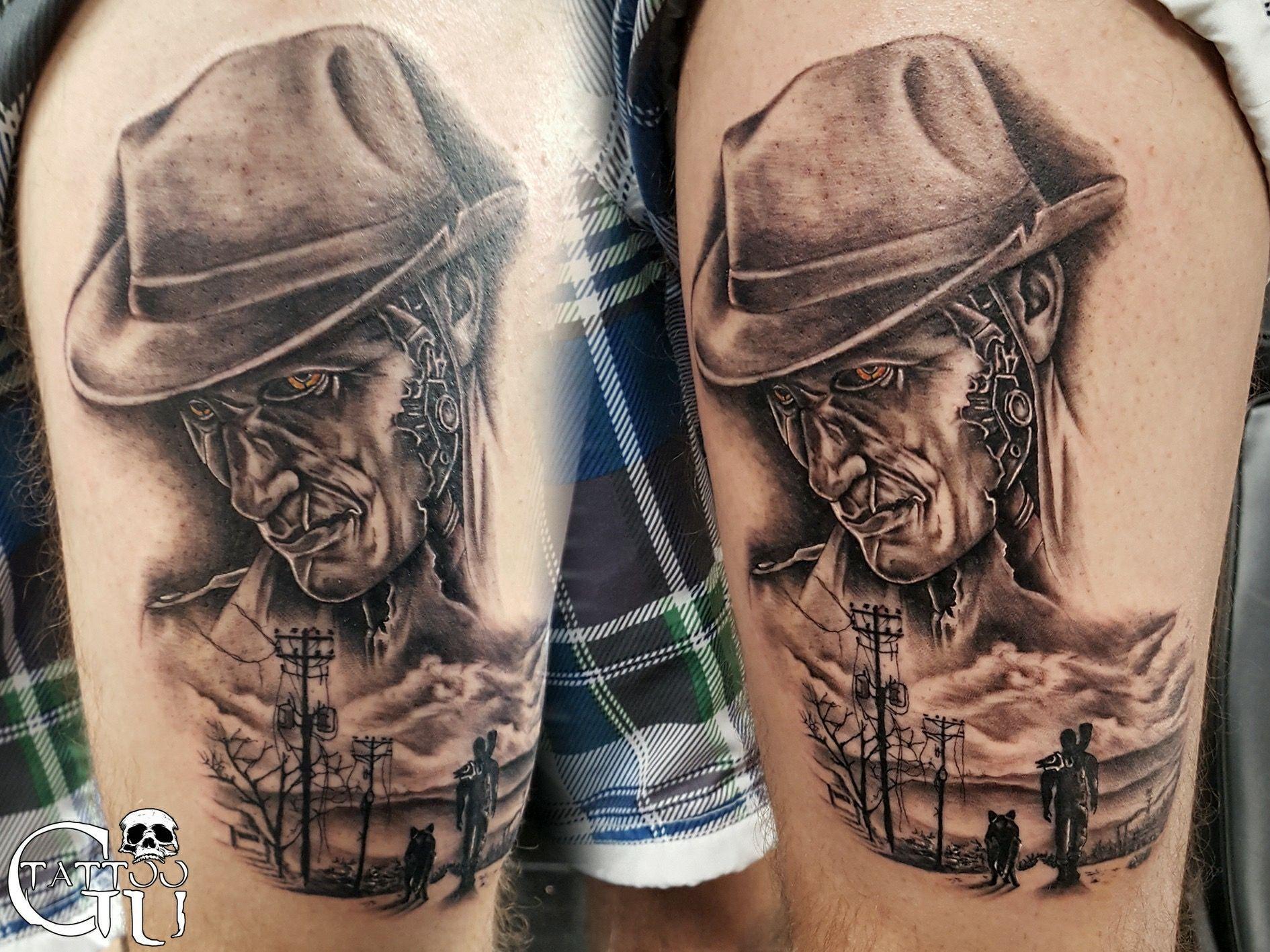 Fallout 4 Tattoo - Gavin Underhill | Tattoos | Tattoos