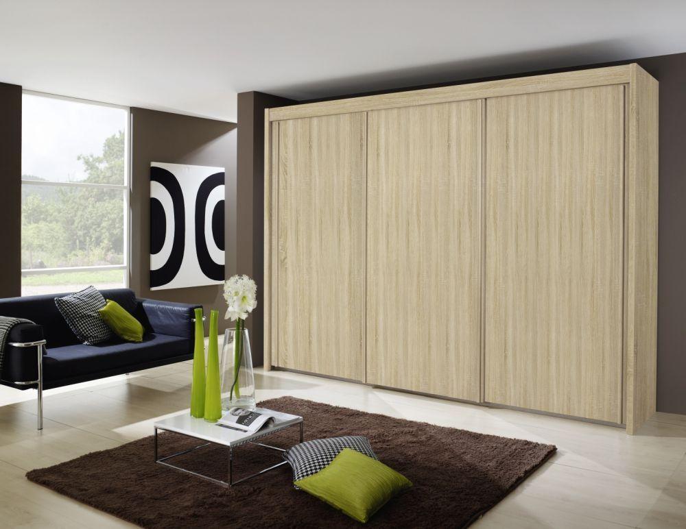 Rauch Imperial Sliding Wardrobe – Front, Wooden Decor