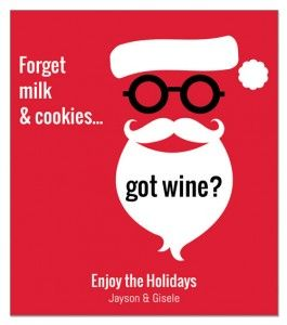 22 Best Holiday Wine Label Sayings Christmas Wine Labels For Fabulous Personalized Gifts