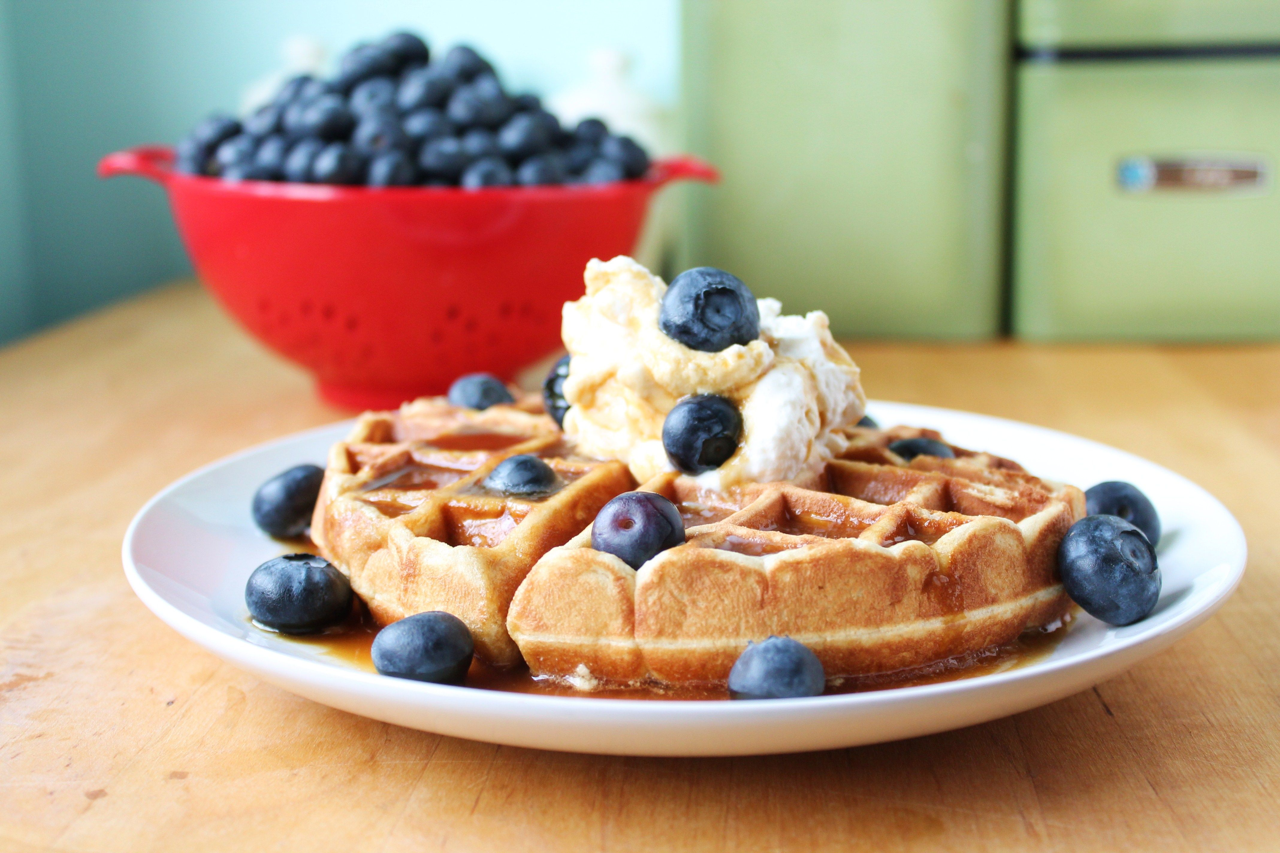 Gluten Free Waffles 1 2 Cup Melted Butter Oil 6 Eggs 1
