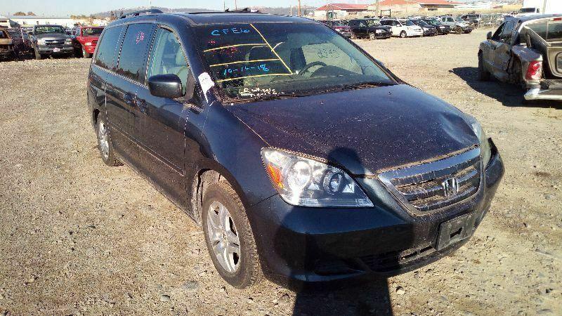 Fits 05-10 Honda Odyssey Mini Van Driver Side Left Front Door Glass