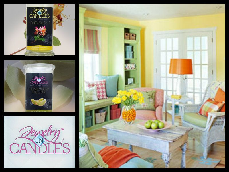 Freshen up your home for spring and get wonderful aromas as well.   www.nakiascandleswithbling.com
