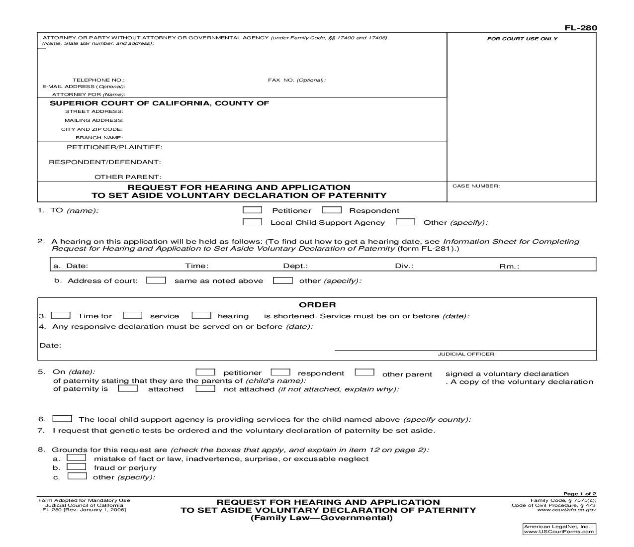 required california divorce forms - HD 1275×1100